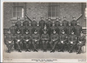 Third from right, back row, that's George