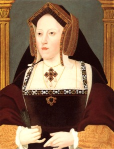 Catherine of Aragon (note hat!) Wikipaedia