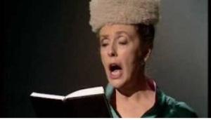 Lady in Church - copyright BBC.