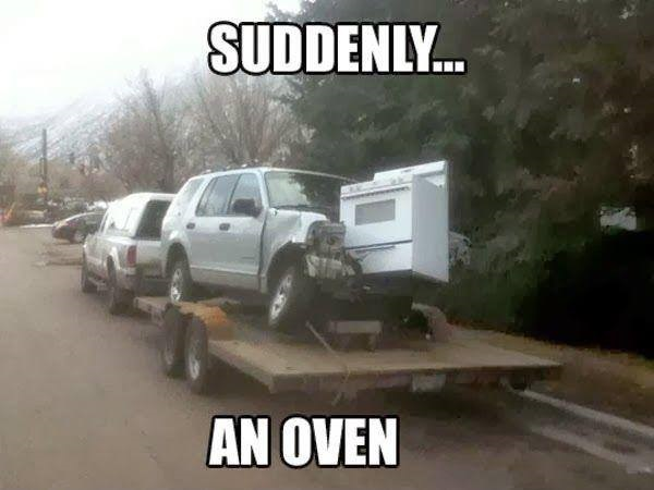 Suddenly oven