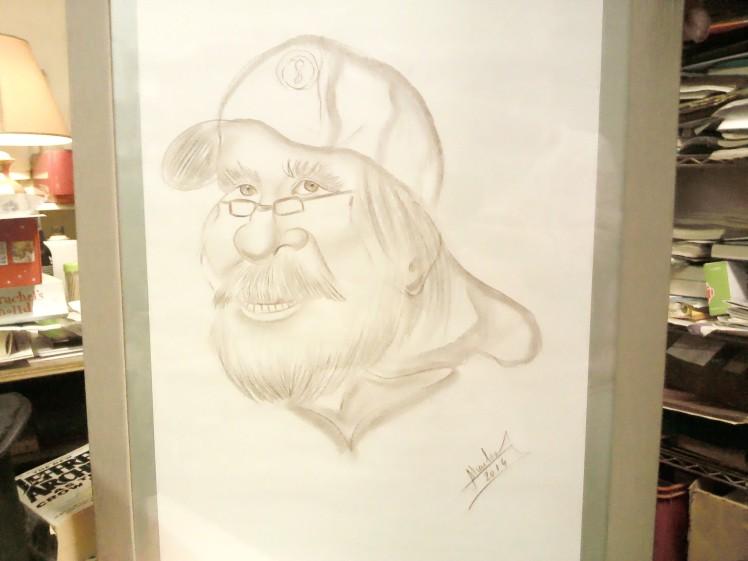 Badger portrait (1)