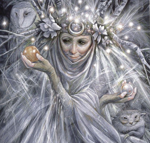 by Brian Froud from the Faeries' Oracle.