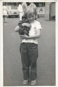 Tomboy me & YES it is wrong - I didn't know aged 6