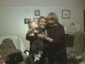 Suzy Liam and me