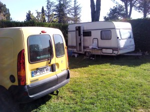 Uncle Vanya the caravan