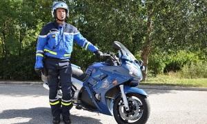 gendarme moto