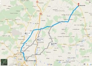 route to Tassimo